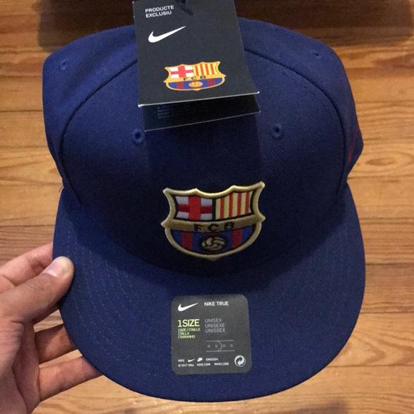 d1c115ba6ef28 FC Barcelona Nike SnapBack cap. New w  tags.